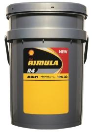 Новое масло Shell Rimula R4 Multi для тяжелонагруженных двигателей.