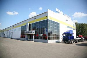 Линейка смазочных материалов «Шелл» в сети СТО Truck Center.